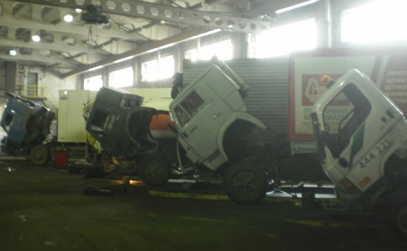 Ремонт грузовиков в Великом Новгороде